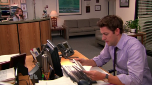 the office finale jim and pam